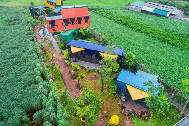 Điểm danh 6 khu Homestay container gần Hà Nội