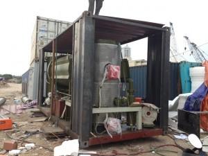 Container xử lý chất thải hóa học 2