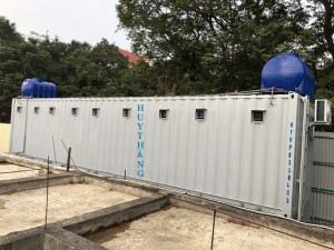 Container toilet 15121
