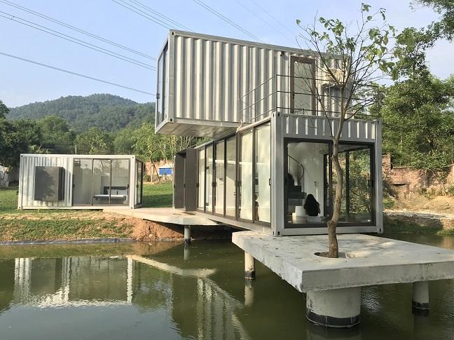 Resort container đầu tiên tại Hà Nội